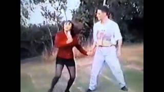 Richard Armitage Dancing home video c1991 Corrected Aspect Ratio
