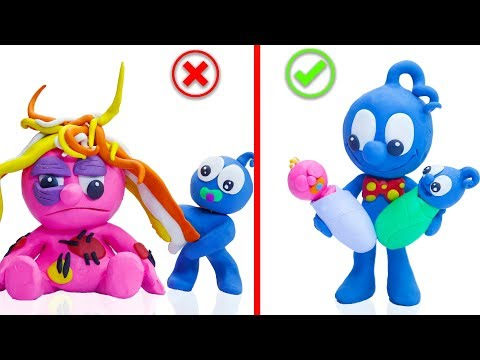 CLAY MIXER: WRONG MARRIAGE LIFE 💖 Play Doh Cartoons For Kids