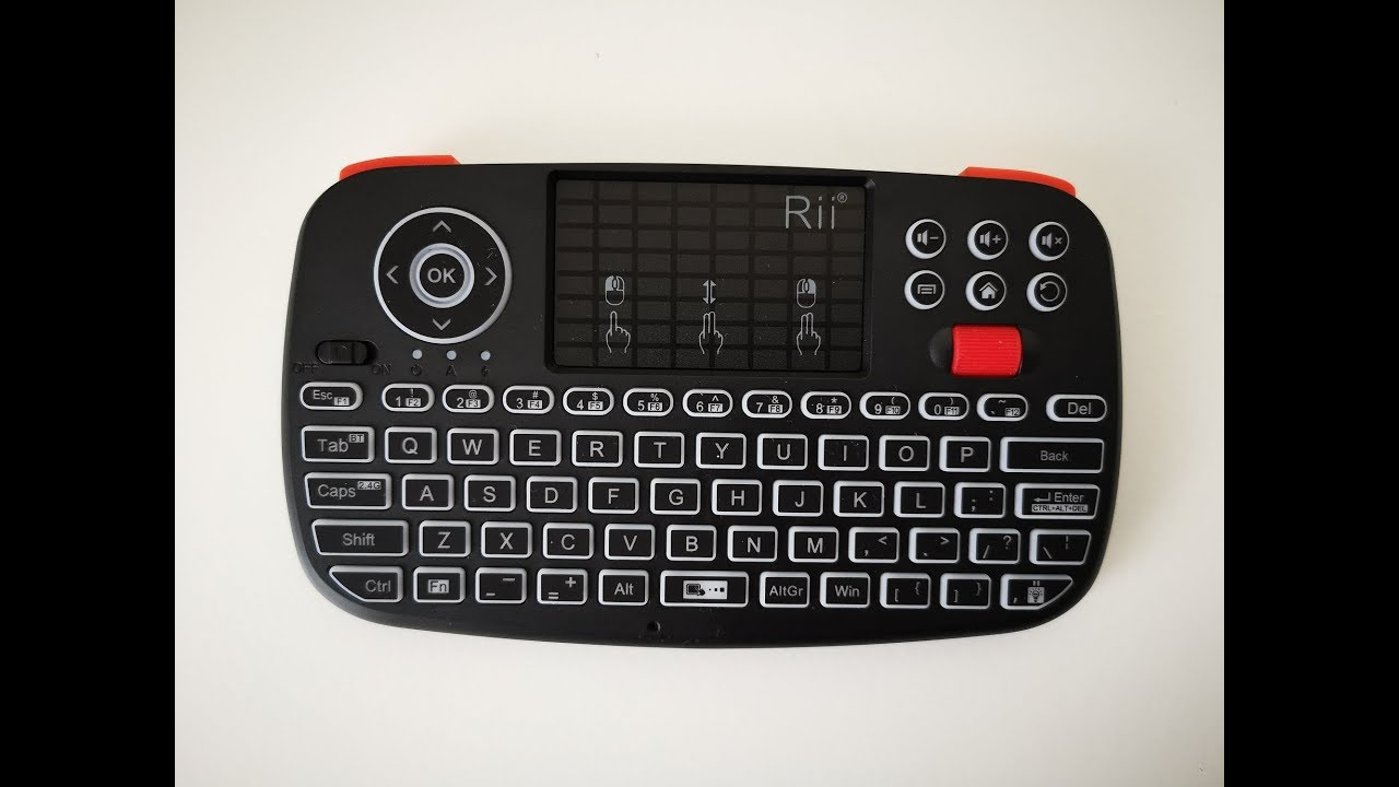 Rii i4 Wireless Keyboard and Mouse Combo for just $20 Bucks