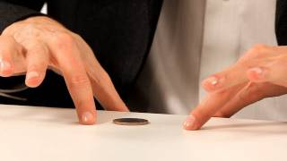 How to Do Coin through a Table Trick | Coin Tricks