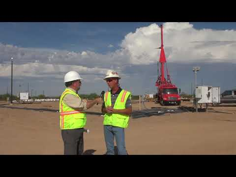 Touring Florence Copper In-Situ Recovery Project, Florence, Arizona