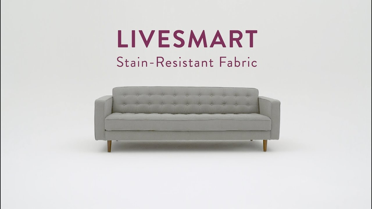 LiveSmart fabric cover.