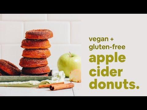 Vegan GF Apple Cider Donuts   Minimalist Baker