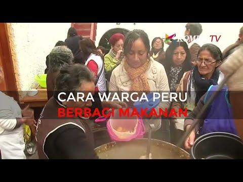 Cara Warga Peru Berbagi Makanan