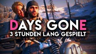 Days Gone für 3 Stunden gespielt | Exklusives Gameplay & Eindrücke