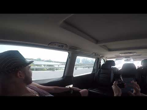Arrived to Singapore. First impressions from taxi