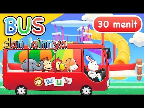 Lagu Anak Anak | Bus Dan Lainnya | 30 Menit