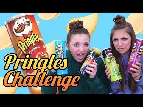 PRINGLES CHALLENGE! Potato Chip Tasting Contest | Kamri Noel