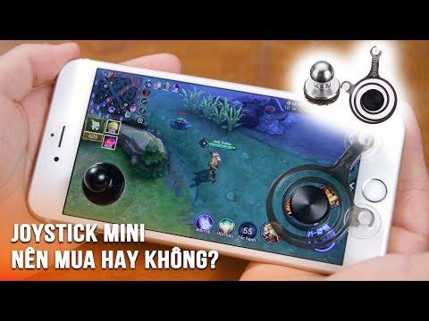 Review 2 loại Joystick Mini phổ biến cho điện thoại, có nên mua hay không?