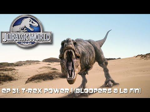 Let's Play Jurassic World Le Jeux [fr/qc] Ep 31: T-Rex Power ! (Bloopers a la fin)