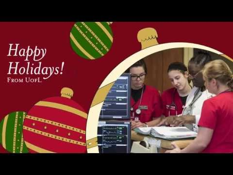 Happy Holidays from the University of Louisville