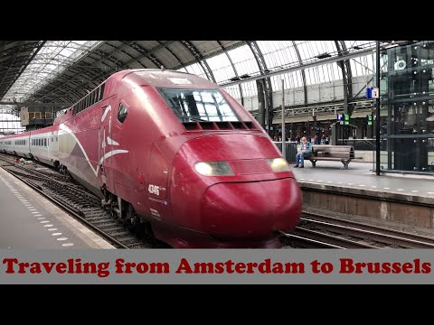 Thalys: Train Travel from Amsterdam to Brussels