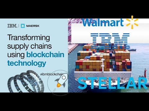 Walmart Partners With Stellar Lumen! IBM Tracks With Block Chain, Food Safety Alliance In China