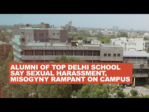 Alumni of top Delhi school say sexual harassment, misogyny
