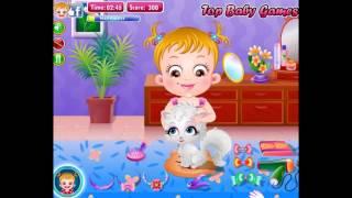 Бесплатные игры онлайн  Baby Hazel Naughty Cat  Малышка Хейзел Непослушный котенок, игра для детей
