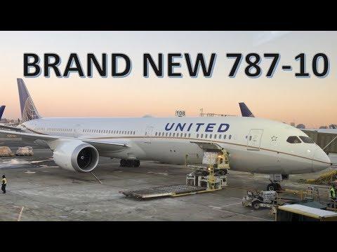 BRAND NEW 787-10! - United Airlines Premium Economy
