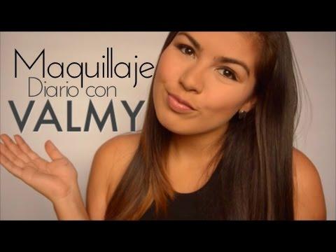 Maquillaje Diario con PRODUCTOS VALMY - Nenilicious