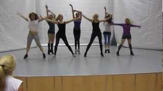 Танцевальное обучение черлидингу