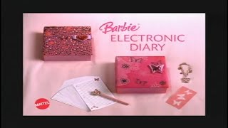 The Barbie Diaries Electronic Diary Commercial