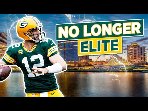 [OC] Why Aaron Rodgers is NO LONGER An Elite Quarterback | A film breakdown analyzing why Rodgers film and statistics (E.P.A.) are only league average
