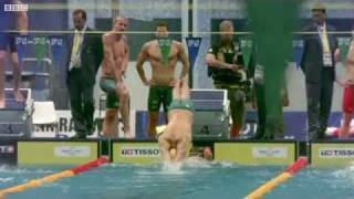 England Mens 4x100 Medley - Commonwealth Games 2010