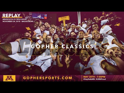 Watch Live: Gopher Football Trounces Wisconsin, Reclaims Axe 37-15 (Gopher Classics)