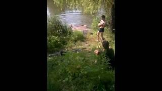 видео Река Суна в маленькую воду.