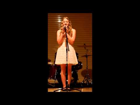 Turning Tables-Adele Cover by Megan Williams Talent Show 4-19-13
