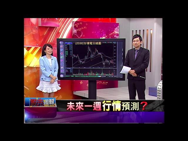 股市周報*曾鐘玉20180610-3【台股第三季怎麼走?就看台積電填息大秀】(高子旭)