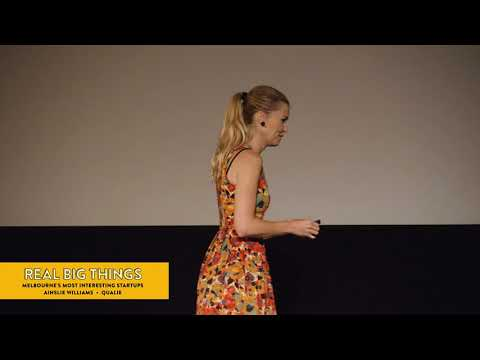 Melbourne Startups: Quality qualitative research – Ainslie Williams at Real Big Things #20