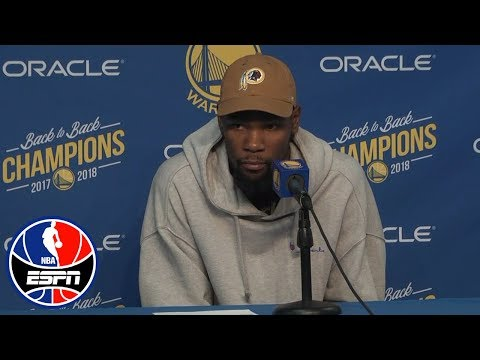 Kevin Durant on Draymond Green: Not trying to give anyone headlines | NBA Sound