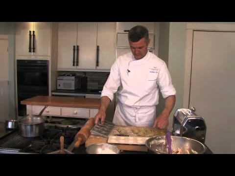 Lobster Ravioli with Tarragon Cream Sauce Recipe || KIN... | Doovi