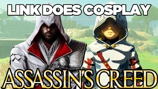 Link Does COSPLAY! Assassin's Creed Cosplay in Breath of the Wild | Austin John Plays