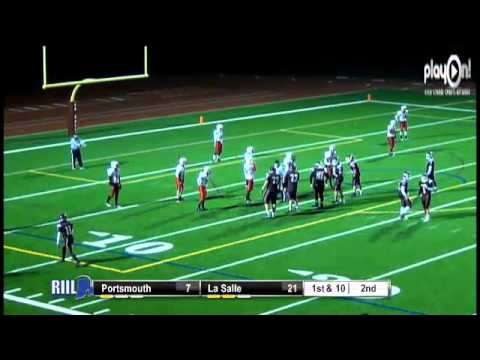 2012 RIIL Division 1 Football Semifinals- LaSalle Academy vs Portsmouth