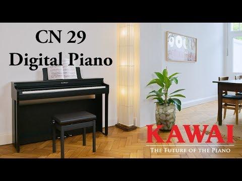KAWAI CN29 Digital Piano DEMO - ENGLISH