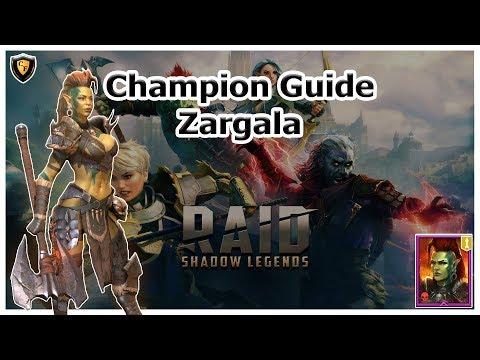 RAID Shadow Legends | Champion Guide | Zargala