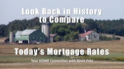 A Look Back in History at Mortgage Rates to Appreciate Today