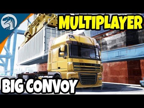 TRUCKIN' ACROSS EUROPE, CARGO & FREIGHT COMPANY | Euro Truck Simulator 2 Mutliplayer Gameplay