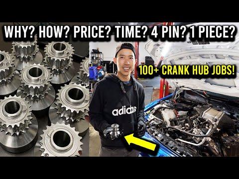 How to fix the BMW crank hub! (1 hour 100% DIY walk through)