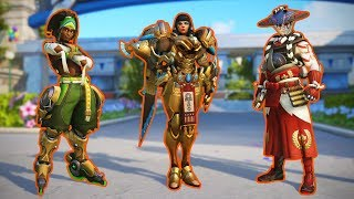 All New Skins, Emotes and Highlight Intros [Overwatch]