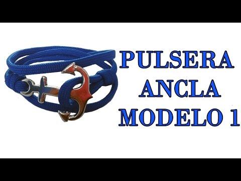 56e0d4b99523 DIY Como hacer pulsera ancla para hombre modelo 1   DIY Bracelet Marine