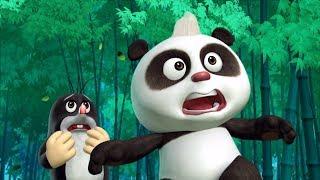 Новые мультики 2017! Кротик и Панда - Вкус облаков + Инопланетянин - Веселые мультфильмы для детей