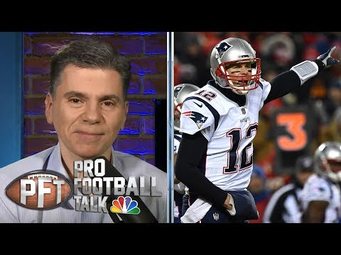 Tom Brady unstoppable in AFC Championship when game mattered most | Pro Football Talk | NBC Sports