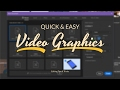Easy & Free Graphics for Content (TIME SAVER) - Editing Tips
