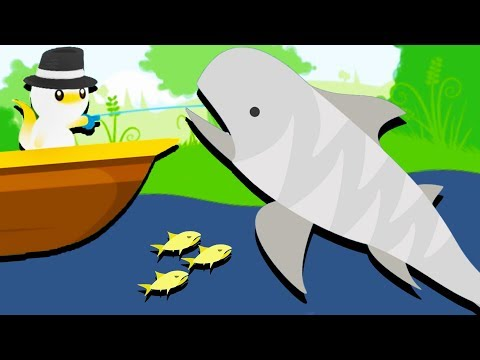 Catching GIANT SHARKS! - Cat Goes Fishing Gameplay