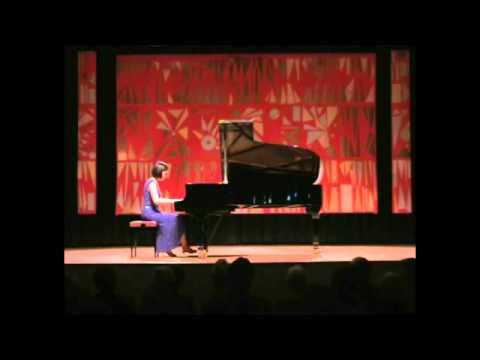 "Caroline Fischer - Liapounov: Etude d'exécution transcendante op. 11 ""Lesghinka"""