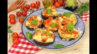 Eggplant mini pizzas: a healthy, tasty and quick recipe!