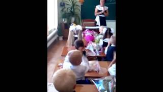 Открытый урок первого класса Петропавловской средней школы Купянского района