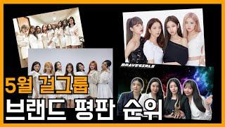 아이돌출신이 알려주는 걸그룹 브랜드평판 순위 TOP4(2021년 5월)