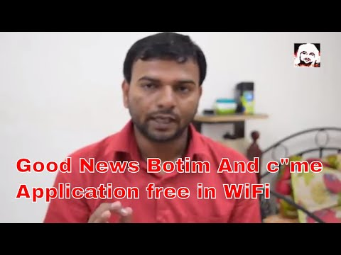 "Good news UAE residence | Free botim And C""me Application in your wifi ,